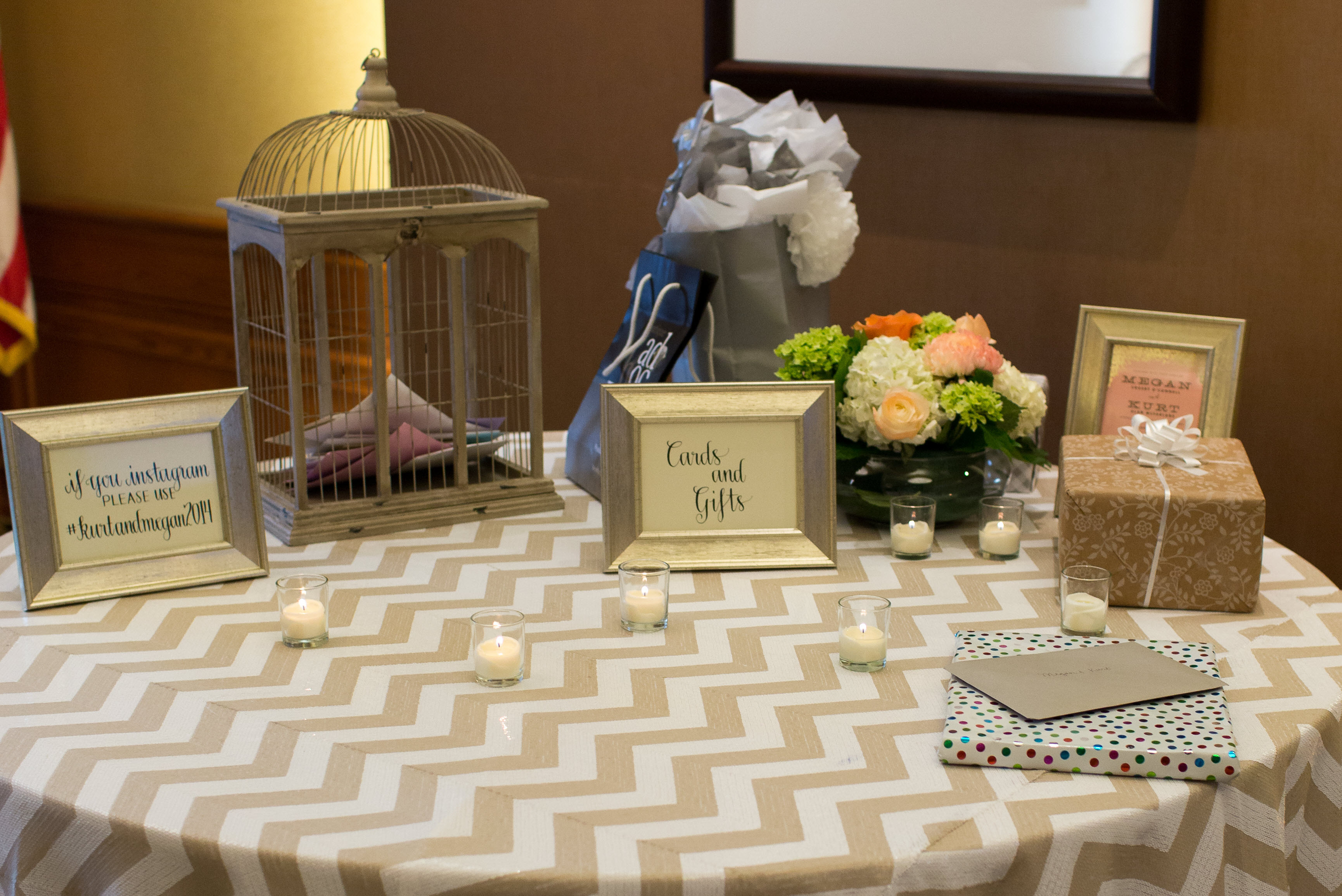Pictures Of Wedding Gift Tables : Chicago wedding gift table